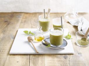 Green tea shake
