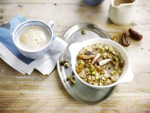 Hazelnut porridge