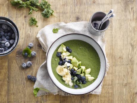 Yummy groene smoothie bowl