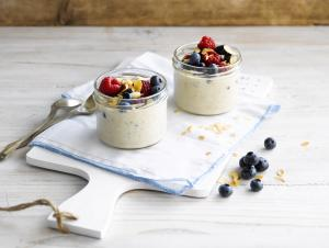 Bananen Overnight Oats