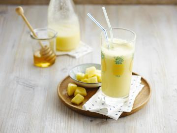 Coconut Pineapple smoothie