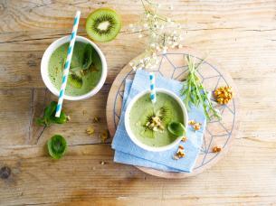 Smoothie vert au soja