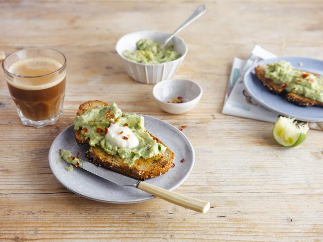 Würziges Avocado-Brot