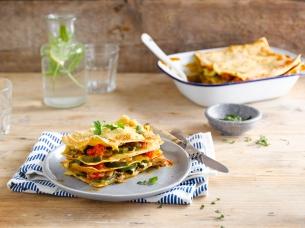 Bunte Gemüse-Lasagne