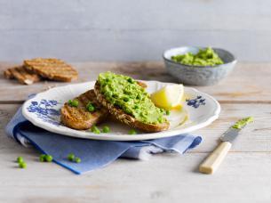Groene Erwten Hummus